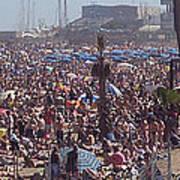 Barcelonetta Beach Poster