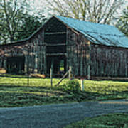 Barn 1 - Featured In Old Building And Ruins Group Poster