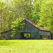 Barn From The Forgotten Farm Poster