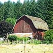 Barn In Summer Poster