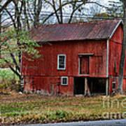 Barn - Seen Better Days Poster
