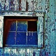 Barn Window 1 Poster