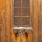 Barn Window 3348 Poster
