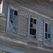 Barn Windows Poster