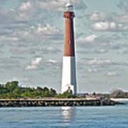 Barngat Lighthouse - Long Beach Island Nj Poster