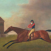 Baronet With Sam Chifney Up Poster