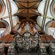 Baroque Grand Organ In Oude Kerk Poster