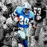 Barry Sanders Breaking Out Poster