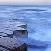 Basalt Rock, Berwick Upon Tweed Poster