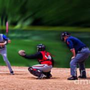Baseball Batter Up Poster