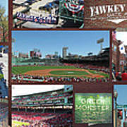 Baseball Collage Poster