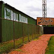 Baseball Field Bull Durham Sign Poster