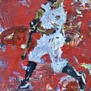 Baseball Painting Poster