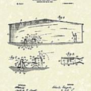 Baseball Pitcher 1902 Patent Art Poster