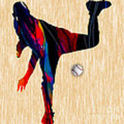 Baseball Pitcher Poster
