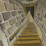 Basement Stairs Poster