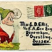 Bashful Letter Poster