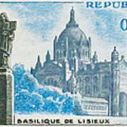 Basilica Lisieux Poster