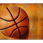 Basket Ball Poster by Craig Tinder
