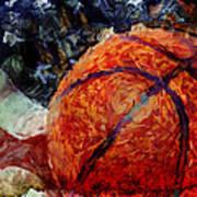 Basketball Usa Poster by David G Paul