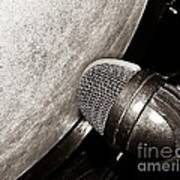 Bass Drum And Mic Poster