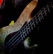 Bass Guitar Poster by Bob Orsillo