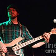 Bass Guitar Musician Poster