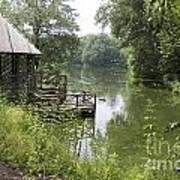 Bass Pond Biltmore Estate Poster
