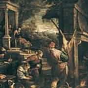 Bassano, Leandro 1557-1622. The Return Poster