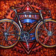Bates Bicycle Poster by Mark Howard Jones