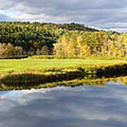 Bath Nh Autumn Panorama Poster