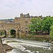 Bath On River Avon 8482 Poster