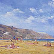 Bathers, Gozo  Poster
