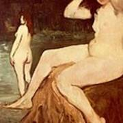 Bathers On Seine Poster