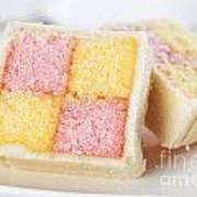 Battenberg Cakes Poster