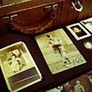 Battered Suitcase Of Antique Photographs Poster