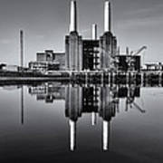 Battersea Reflection Poster