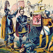 Battle Of Bosworth, Henry Vii Crowning Poster