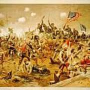 Battle Of Spotsylvania Thure De Thulstrup Poster