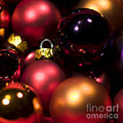 Bauble Abstract Poster