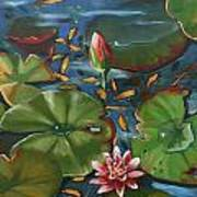 Lily Pond II Poster