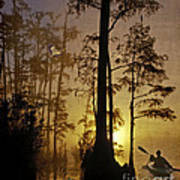 Bayou Sunrise Poster
