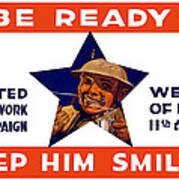 Be Ready - Keep Him Smiling Poster