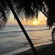 Beach At Sunset 4 Poster