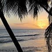 Beach At Sunset 5 Poster