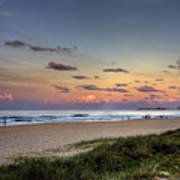 Beach At Twilight Poster