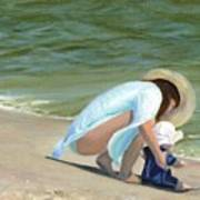 Beach Baby Poster