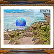 Beach Ball Dreamland Poster
