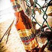 Beach Beer Poster
