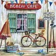 Beach Cafe Poster